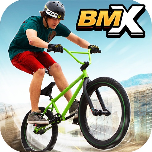 BMX极限越野特技赛
