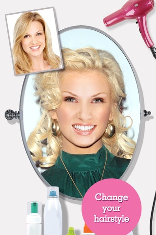 FACEinHOLE® Hairstyles for Women - Hair styler with cute haircuts for girls screenshot 3