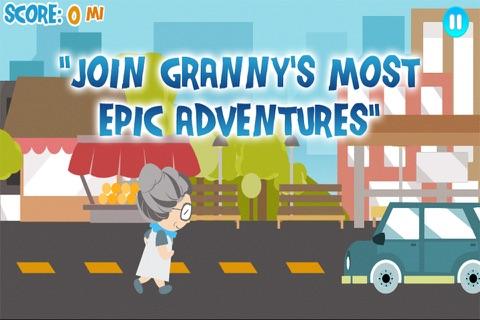 Granny Walks Around The World screenshot 2