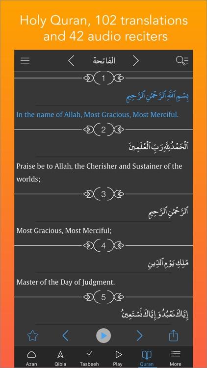 Azan Pro (Muslim Azan Times, Quran Audio, Qibla, Prayer Counter, Tasbih,  Athan) by Aviso Tech