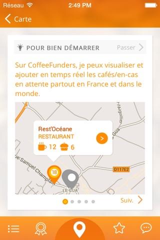 CoffeeFunders - Cafés suspendus screenshot 2
