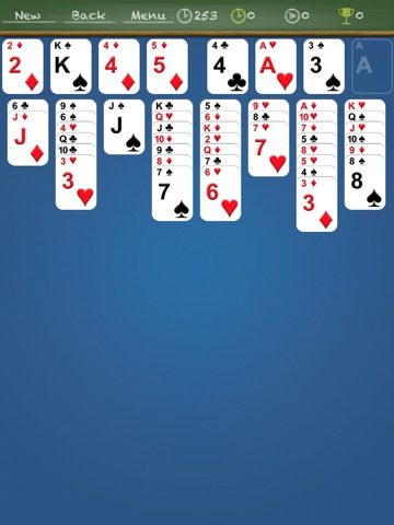 iFreeCell HD Classic - Freecell solitaire screenshot 3