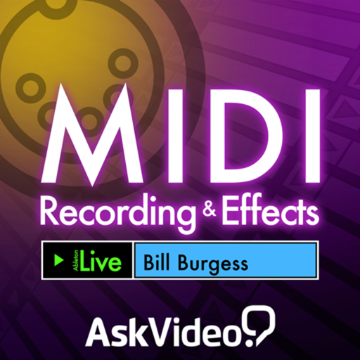 AV for Live 9 103 - MIDI Recording and Effects