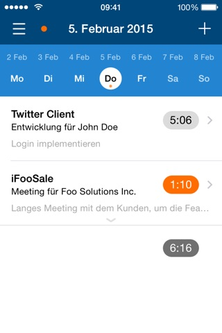 mite.go - Smart time tracking for teams and freelancers screenshot 1