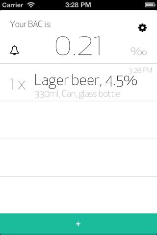 Calculate BAC screenshot 1