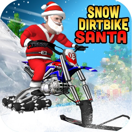 Snow Dirt Bike Santa iOS App