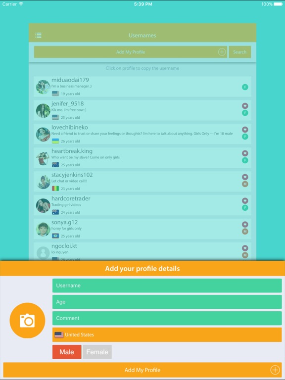 oV Users - Find more real usernames for ooVoo Messenger by Ngoc Loi