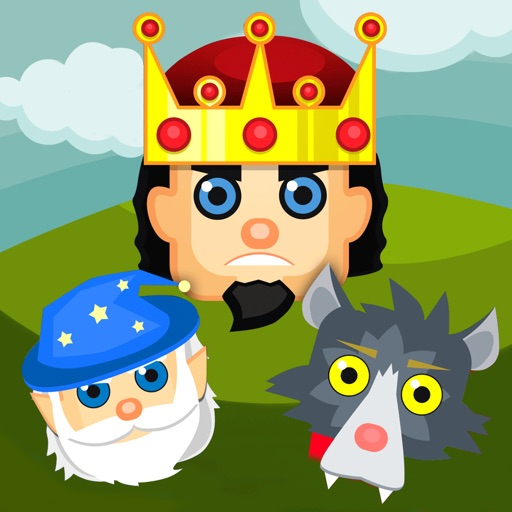 Kingdom Thrones - Crossy Magic Match Empire of Three Puzzle Game In Medieval Times - FREE iOS App