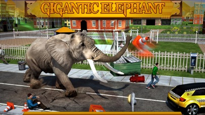 Screenshot #1 pour Angry Elephant Attack 3D