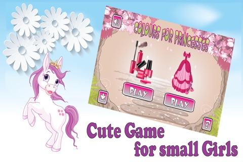 Games for girls colors screenshot 1