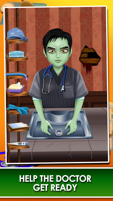 download Monster Mommy's Newborn Baby Doctor - my new girl salon & pregnancy make-up games for kids 2 apps 3