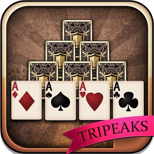 TriPeaks Solitaire for iPad iOS App