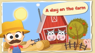 Fun with Farm Animals Cartoon-0