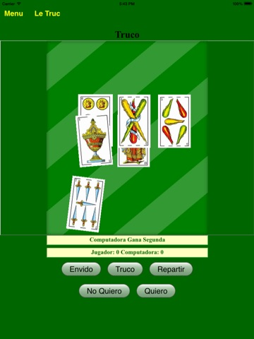 Le Truc Jeux de Cartes France pour iPad - BA.net screenshot 3