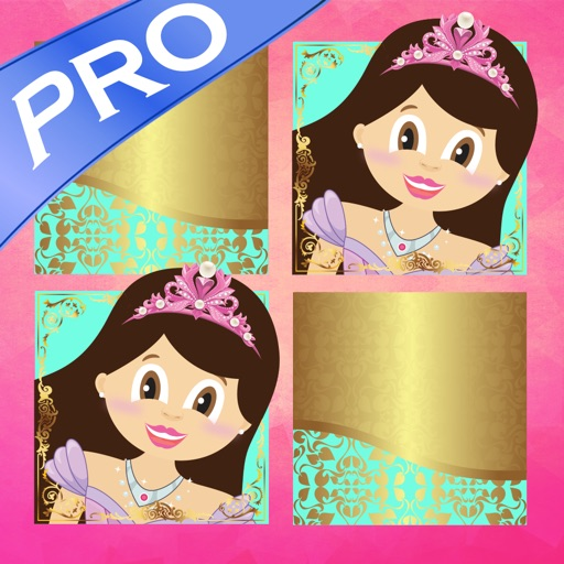 Play with Princess Zoë Pro Memo Game for toddlers and preschoolers iOS App