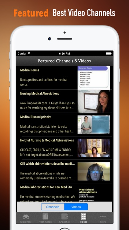 Medical Abbreviation Dictionary: Flashcards and Video Lessons by Steve Chang