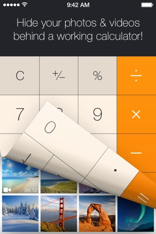Download Secret Calculator Photo Vault: Lock, hide pictures