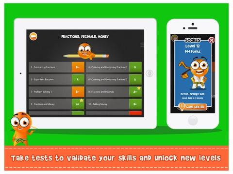 Screenshot #3 for iTooch 3rd Grade App | Math, Language Arts and Science