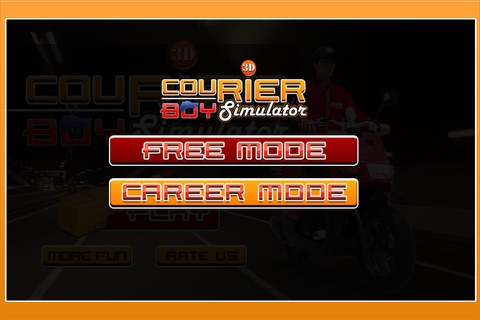 3D Courier Boy Simulator - Best courier, postal service and rider simulation game screenshot 2