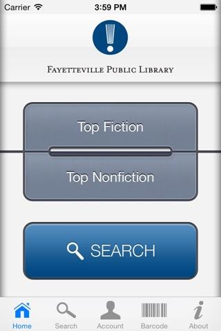 Fayetteville Public iLibrary screenshot 1