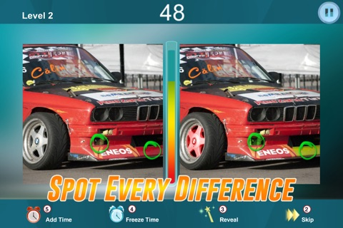 Spot the Differences in two Car Pictures - Photo Puzzle Game - What's the difference? screenshot 2