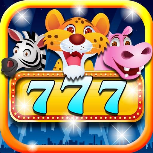 Animals in Vegas 777 Slots Adventure: A Fun and classic Slot Machine Gambling Simulator Mania! (HD) iOS App