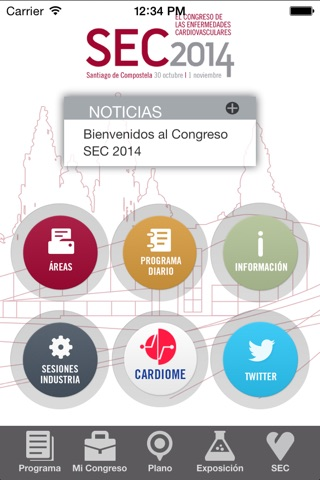 Congreso SEC 2014 screenshot 1