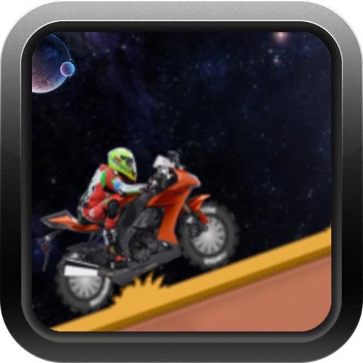 Hill Climb Race Space iOS App