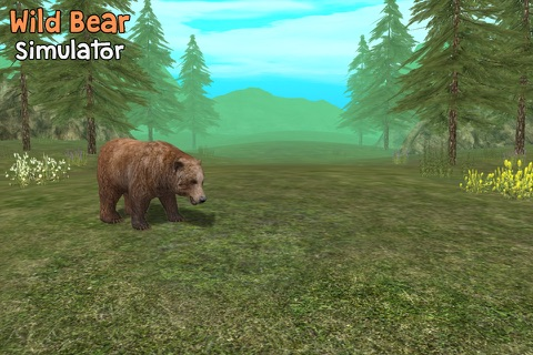 Wild Bear Simulator 3D screenshot 1
