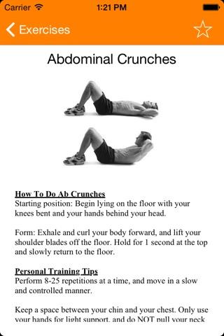Complete Gym Guide Lite screenshot 1