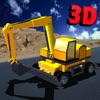 Heavy excavator simulator : Awesome construction crane parking challenge for kids and teens