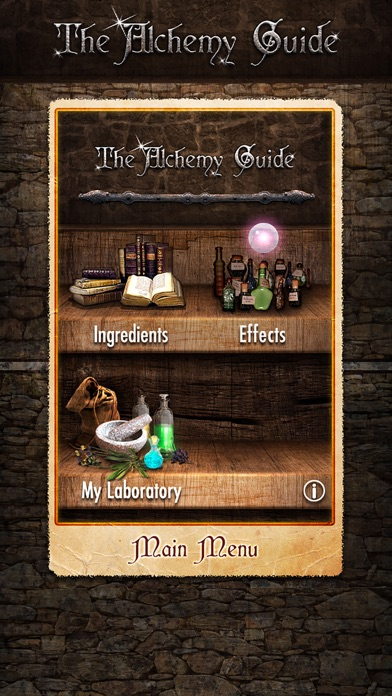 Alchemy Guide Free for Skyrim Screenshot
