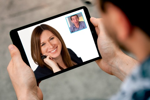 Language Exchange: Practice a foreign language with native speaker in video call screenshot 1
