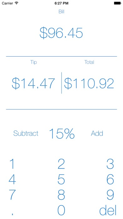 Tip Calculator - Get the Tip for Free screenshot one