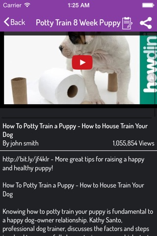 Potty Training For Dogs screenshot 3
