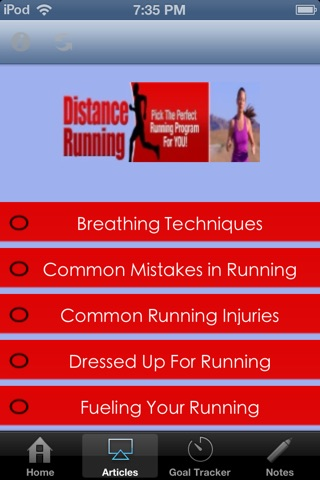 Distance Running - Pick the Perfect Running Program For You screenshot 2