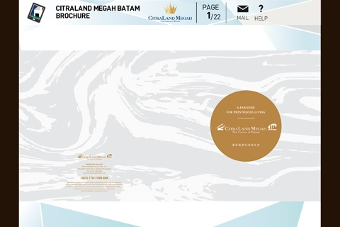 CitraLand Megah Batam Brochure screenshot 1