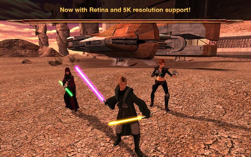 Star Wars®: Knights of the Old Republic™ II Screenshots
