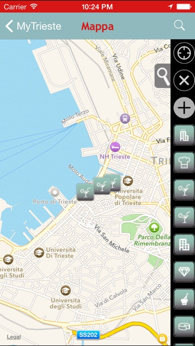 Screenshot of MyTrieste1