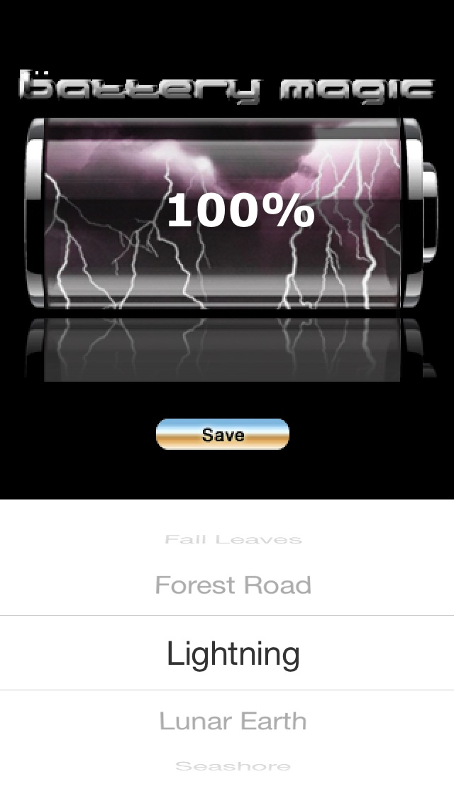 Screenshots of Battery Magic: Battery Life Battery Stats Battery Charge & Saver all in one! for iPhone