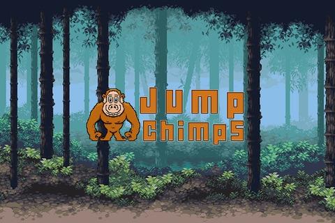 Jump Chimps - A Fun free addictive dodge rocks jumping game experience screenshot 2
