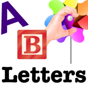 Autism/DTT Letters by drBrownsApps.com - Includes American Sign Language icon