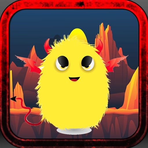 Swing Evil Furry - Cute Little Crazy Yellow Monster Copter Adventure iOS App