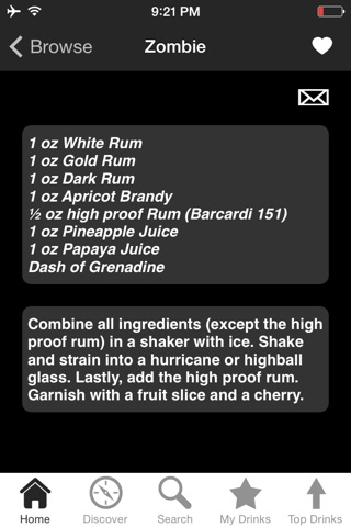 iBartender Drink & Cocktail Recipes screenshot 1