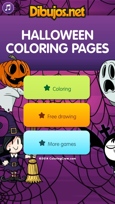 download Halloween Coloring Pages apps 1