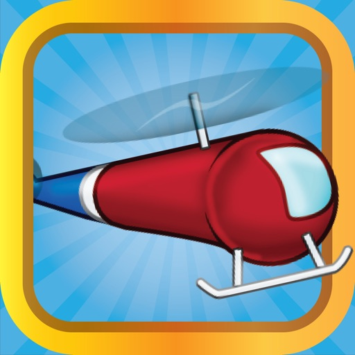 Fly The Copter - FREE Helicopter Game Icon
