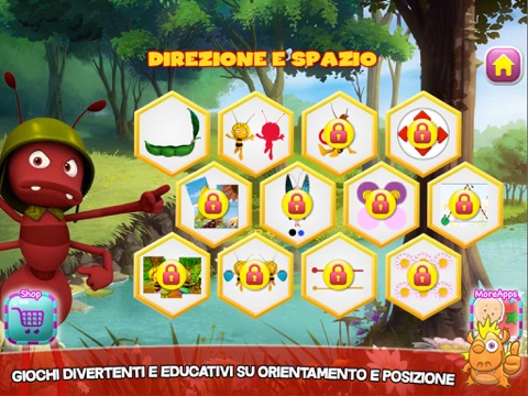 L'Ape Maia: Gioca e impara - Educativo per bambini Screenshot