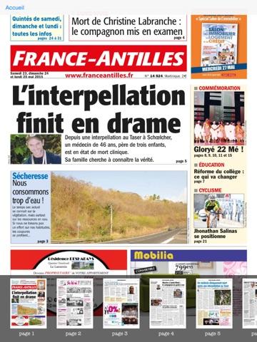 France-Antilles Martinique screenshot 3