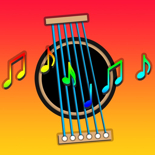 Kids Guitar - learn music notes with karaoke lullaby games iOS App