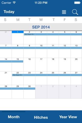 Oilfield Calendar screenshot 3